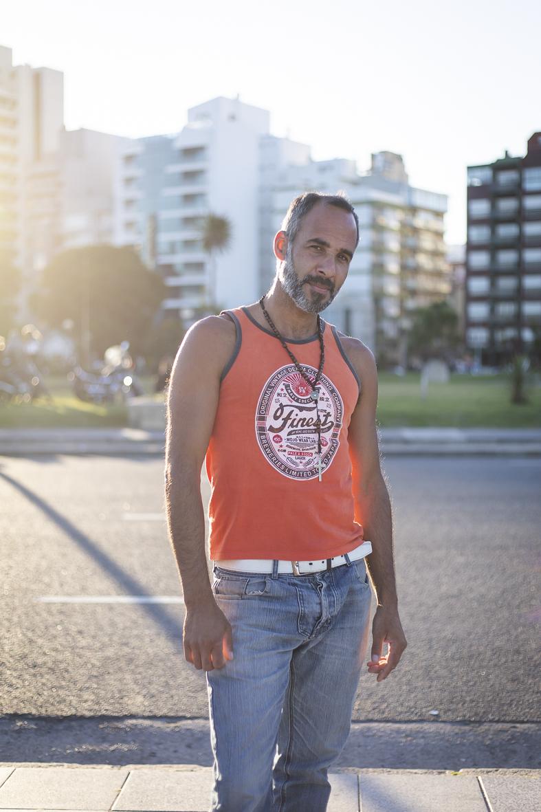 Portrait eines Tänzers in Argentinien vonFotografin Diana Walaszek